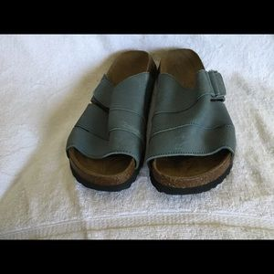 Betula by Birkenstock women's blue sandals size 41